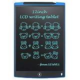 NEWYES NYWT120 Tavoletta LCD da Disegno con Stilo, 12 Pollici di Lenghezza, Vari Colori(Blu)