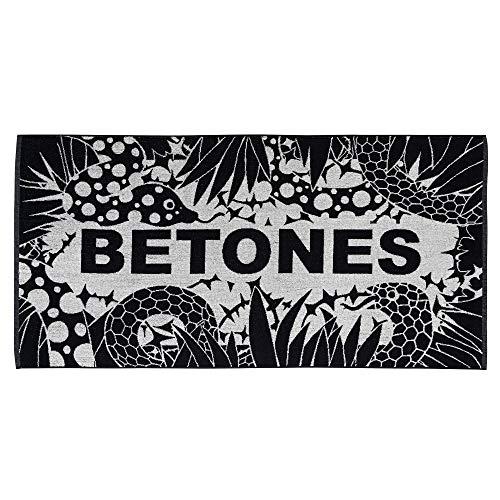 (ビトーンズ) BETONES PARADIS (パラディス) バスタオル コットン 洗濯ネット付き Free 1_Black PARADIS