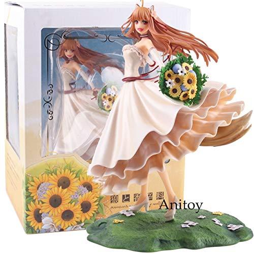 Yvonnezhang Figur Anime Spice und Wolf Figur Holo Brautkleid Ver.Holo Renewal 1/8 PVC Action Figure Spielzeug zum Sammeln, KT4991 mit Box