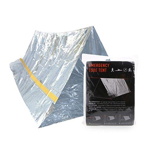 XIANGLAN Notfall-Decke,Zelt Und -Schlafsack, Hitze-reflektierend, Wasserdicht, Mylar, Thermo-Schutz, Überlebensausrüstung Zum Camping/Wandern