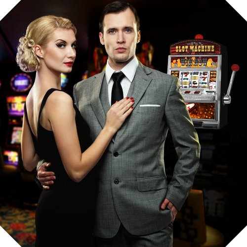 GreatGadgets 1890 Casino Slot Machine – Einarmiger Bandit (38 cm) - 6