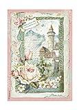 Stamperia A4decoupage Carta di Riso imballato Castle Fantasy