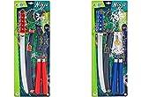 Globo- 2 Armi Ninja Ass, Multicolore, 37149
