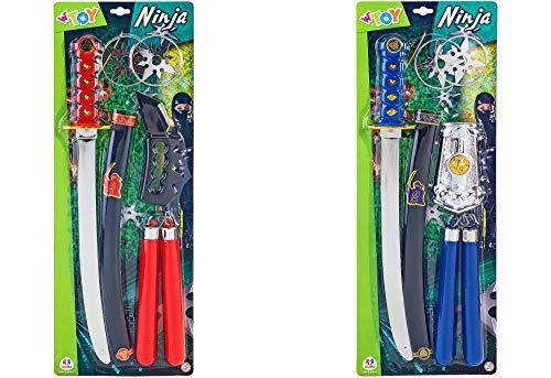 Globo- Ninja Weapons 2 Asstd (37149), Multicolore (1)