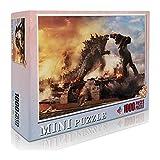 Godzilla King Kong Puzzle 1000 Piezas para Adultos y niños Monster Jigsaw Games, Juguetes educativos, Actividades para Padres e Hijos 27.56'x 19.66' /70 * 50cm.-Sci-fi Movies