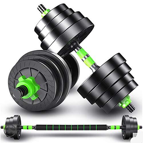 HE-XSHDTT Hantel Haushalt Langhantel Hand Glocke Stück Jugend und Kinder Training Arm Muskel Fitnessgeräte Abnehmbare Fitness,15kg