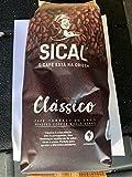 Deliciosos granos de café portugueses tostados Sical 5 estrellas (3 paquetes de 1kg)
