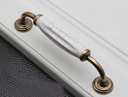 2 X Blanc Brillant Rose Tiroir Bouton Tirettes//Armoire Poignées Gisela Graham