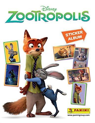 Disney Panini Zootropolis Starter Pack – Album Autocollant et 31 Stickers