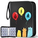 POKONBOY Trading Card Binder Card Holder, Compatible with Pokemon Card, Holds Up to 720 Cards - Trading Cards Collectors Album with 40 Premium 9-Pocket Pages