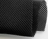 1 METRO Tejido transpirable rejilla 3D Negro Ancho 220cm HAPPERS