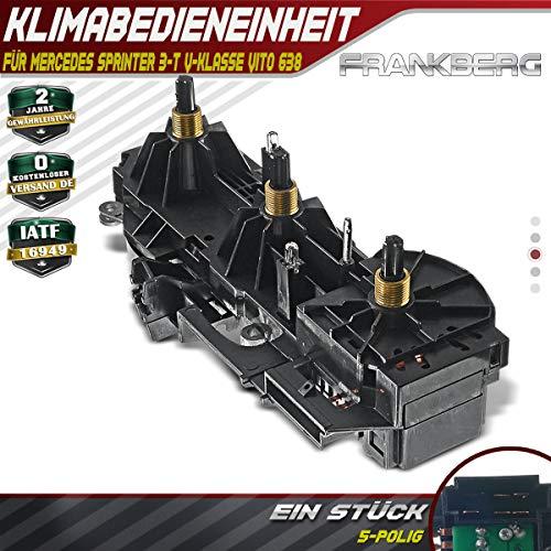 Unidad de climatización para Sprinter 3-T 903 Clase V Vito 638 1996 – 2003 0008304185