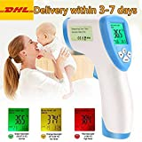 Best IR Thermometers - Greatico Forehead Thermometer-Non Contact Digital-Infrared Laser IR Portable Review