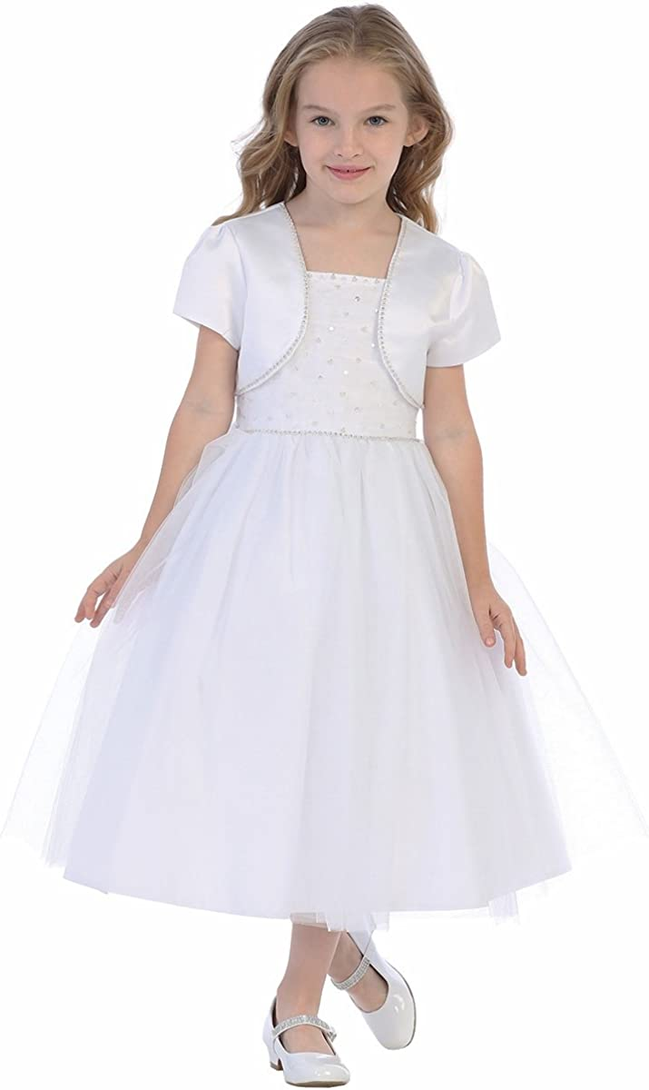 First San Jose Mall Communion Dresses for Girls Dress Popular product 1st Holy 7-16