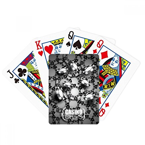 Beaucoup de jetons de casino illustrant le poker, jeu de cartes magiques, jeu de société amusant