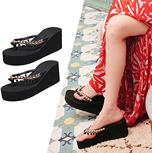 Qingchunhuangtang@ Qingchunhuangtang@ L'été, Porter des Pantoufles Sandales Sandales Sandales De Plage en Bord De Mer  boutique en ligne