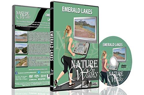 Natur Spaziergänge DVD - Smaragdgrüne Seen - für Indoor Walking, Laufband und Jogging Workouts
