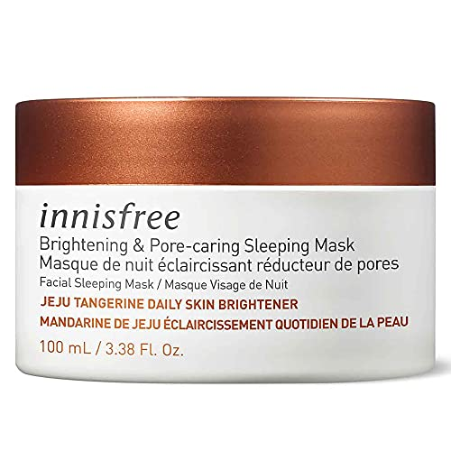 innisfree Tangerine Brightening & Pore Caring Sleeping Mask Treatment