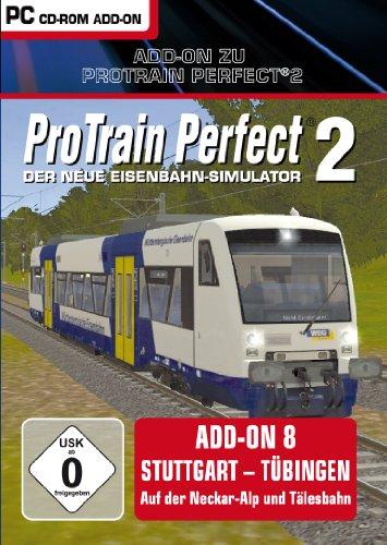 Pro Train Perfect 2 - AddOn 8 Stuttgart - Tübingen - [PC]