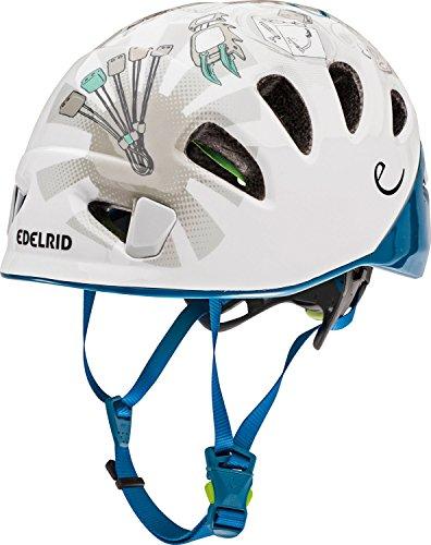 EDELRID Shield II Helm Kinder weiß Kopfumfang 52-62cm 2021 Snowboardhelm