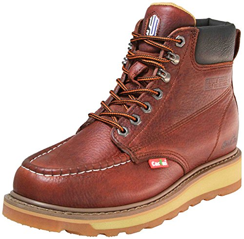 Cactus Work Boots 627M Wine Size 10.5