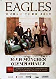Eagles - World Tour, München 2019 » Konzertplakat/Premium