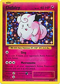 clefairy evolutions card