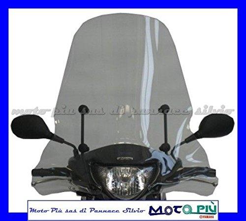 F.Fabbri Pare-brise haut transparent pour Suzuki Sixteen 125-150 2008-14