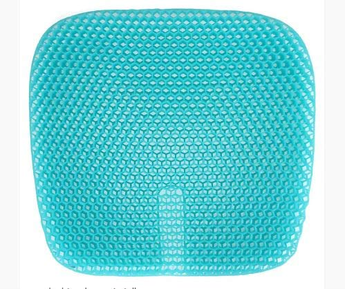 KoolLife Gel Seat Cushion for Chair – Multiuse for Car Wheelchair Home Office Chair Cushion for Extra Cool Comfort and Lower Body Pain Relief