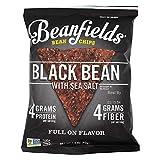 BEANFIELDS Black Bean Chips with Sea Salt,...