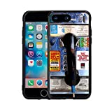 Manufactured and Designed For The Iphone 7 Plus (2016) & Iphone 8 Plus (2017) By Atomic Market Rubber Sides That Protect The Sides Of Your Phone Cases Do Have A Slight Lip To Protect The Front Glass Slim fit wrap case allows easy access to all button...
