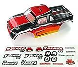 Redcat Racing Tremor ST Truck Body, Red