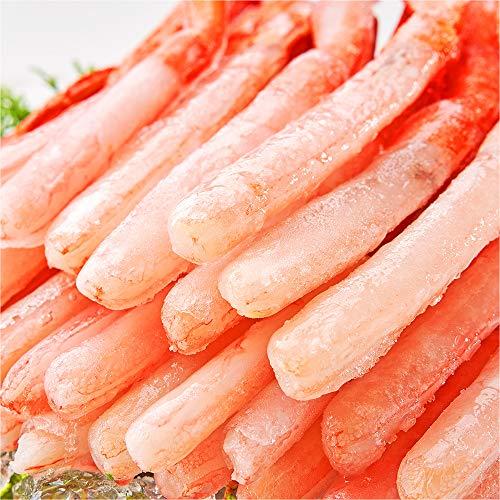 刺身用 北海道産 極太 紅ズワイガニ ポーション 南蛮付き かにしゃぶ カニポーション ずわい蟹 ズワイガニ ギフト (1.6kg)