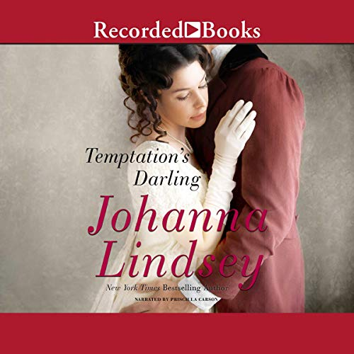 Temptation's Darling audiobook cover art