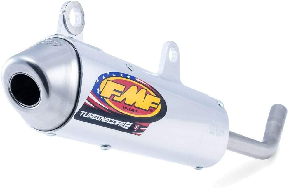 FMF A surprise price is realized Turbinecore 2 Spark 5% OFF Arrestor 2-Stroke Silencer - Compatible