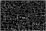 Wallario Poster - Mathematische Formeln –