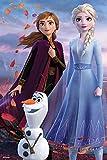 Prime 3D Puzzle lenticular Disney Frozen Elsa, Anna y Olaf 200 Piezas, Multicolor (33030)