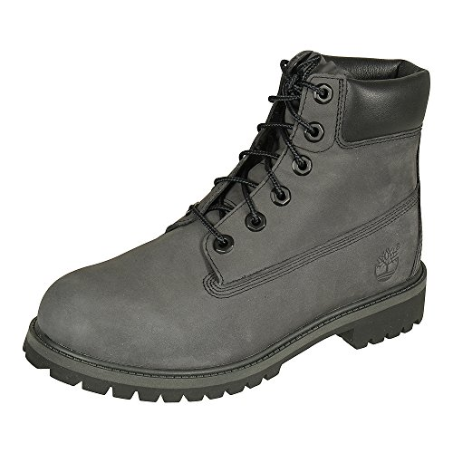 Timberland 6 in Premium WP Boot A1o7q, Stivali Classici Unisex-Adulto, Grigio (Forged Iron), 37 EU