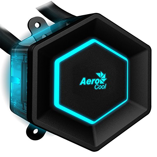 Aerocool P7 L240 Watercoolink Kit per CPU, Nero
