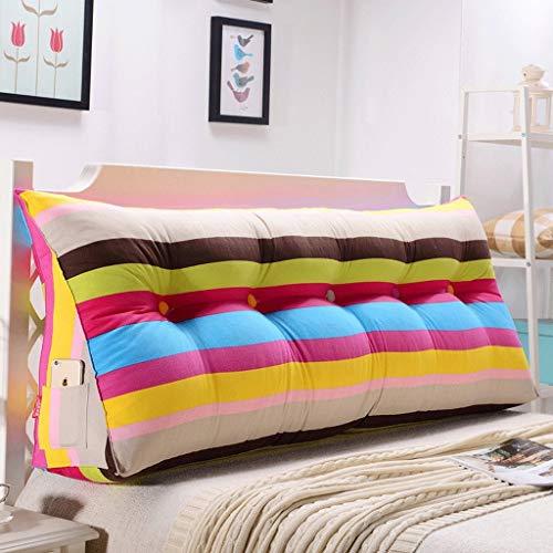 Tokyia Cabecero de cama de doble cintura suave Tatami cojín (color: U, tamaño: 120 cm)