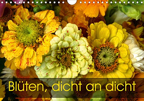 Blüten dicht an dicht (Wandkalender 2021 DIN A4 quer)