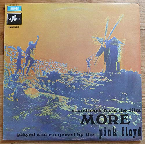 PINK FLOYD: Soundtrack From The Film More, LP, Columbia 3C062-04096 (Italy), Third italian issue with blue EMI logo on front (instead the usual black)