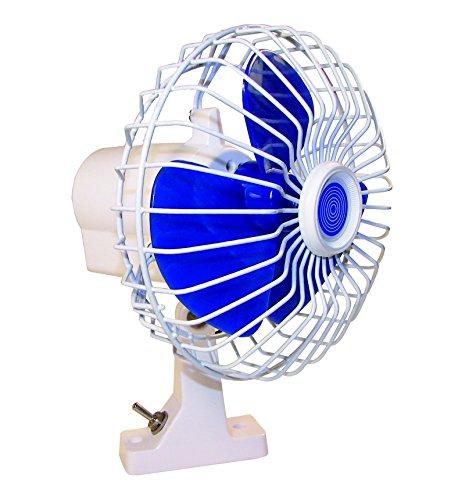 MARINE TOWN - Ventilador oscilante de 24 V.