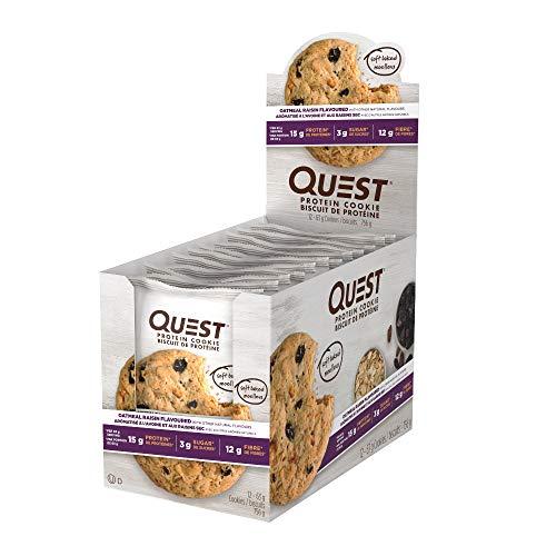 Quest Nutrition Cookie Peanut Butter 12/Box, 696 g