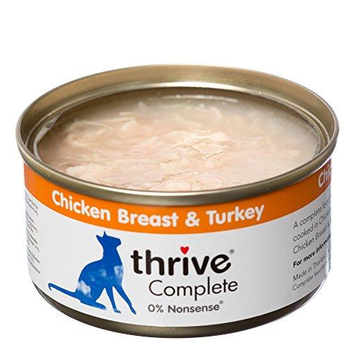thrive Katze Complete - 100% Hühnerbrust & Truthahn (12-er Pack)