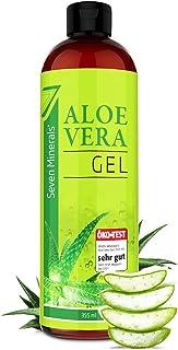Aloe Vera Gel 99% Bio, 355 ml - ÖKO-TEST Sehr Gut - 100% Natürlich, Rein & Ohne Duftstoffe Alkoholfrei, Kein Parfüm/WC-Duft - Einzigartige Vegane Formel OHNE XANTHAN - aus ECHTEM SAFT, NICHT PULVER