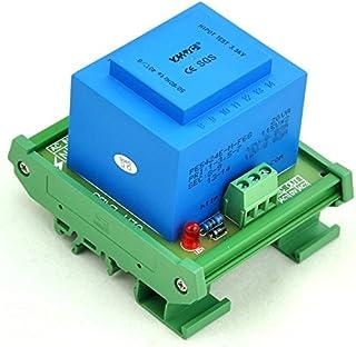 Electronics-Salon 20 Watt(VA) DIN Rail Mount Power Transformer Module (in: 230VAC, Out: 12VAC)