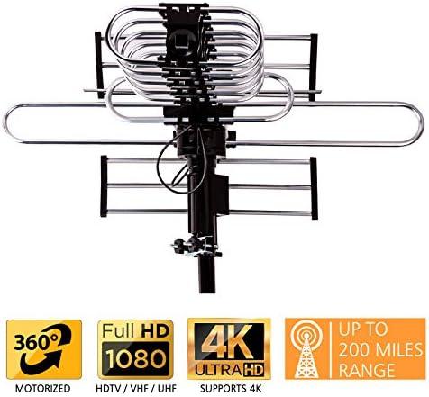Five Star - Antena de TV para exteriores, hasta 322 km de ...