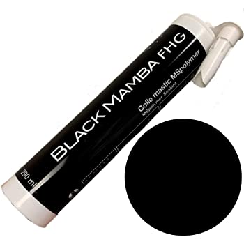 Black Mamba FHG High Tack Case Of 12 White Superfast Mono Component Sealant
