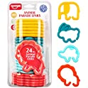 24-Pieces Unih Baby Link Teething Ring Toys